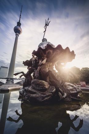 Ronny Behnert, Neptunbrunnen Berlin Alexanderplatz (Deutschland, Europa)