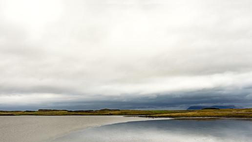 Gabi Kuervers, Landschaft linear IX (Island, Europa)