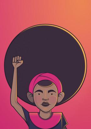 Ndumiso Nyoni, I Am Not My Hair (Südafrika, Afrika)