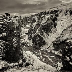 Dennis Wehrmann, Langzeitbelichtung Skalarheidi Fjord Island (Island, Europa)