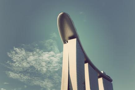 Michael Belhadi, Marina Bay Sands Hotel (Singapur, Asien)