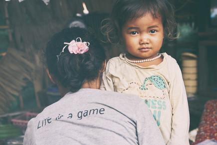 Jürgen Wolf, Das Leben ist ein Spiel (Kambodscha, Asien)