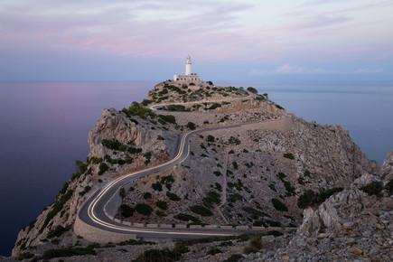 Moritz Esser, Leuchtturm am Cap Formentor auf Mallorca (Spanien, Europa)
