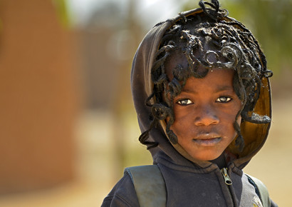Walter Korn, Schulkind (Burkina Faso, Afrika)
