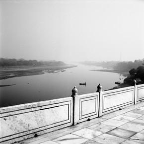 Shantala Fels, Am Taj Mahal (Indien, Asien)