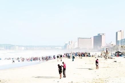 Karin Schiel, Durban Beach (Südafrika, Afrika)