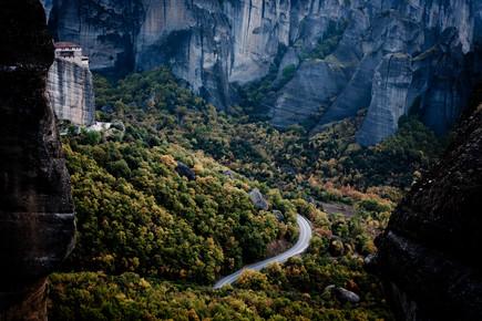 Davi Boarato, Meteora Road in Greece (Griechenland, Europa)