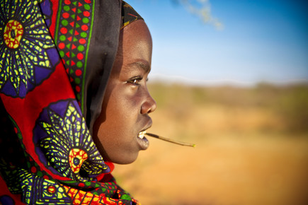 Miro May, Borana Girl (Äthiopien, Afrika)