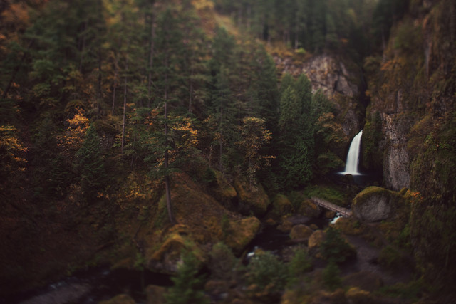 Wahclella Falls - Fineart photography by Kevin Russ