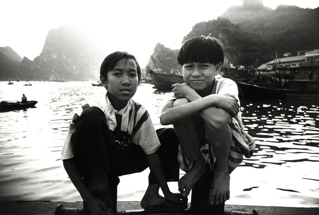 Two Boys in Vietnam - Fineart photography by Jacqy Gantenbrink