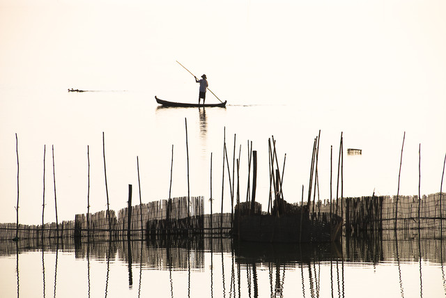 Fisherman - Fineart photography by Manfred Koppensteiner