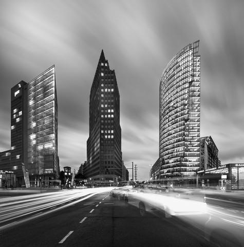 Modern Dynamic Downtown - Fineart photography by Matthias Makarinus