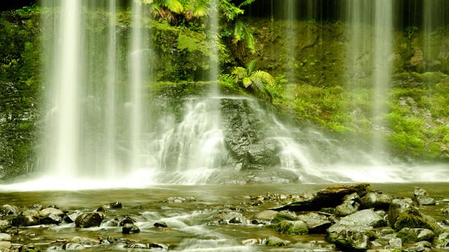 Wasserfall - Fineart photography by Johannes Zakel