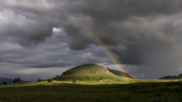 Mongolian Rainbow - Fineart photography by Schoo Flemming