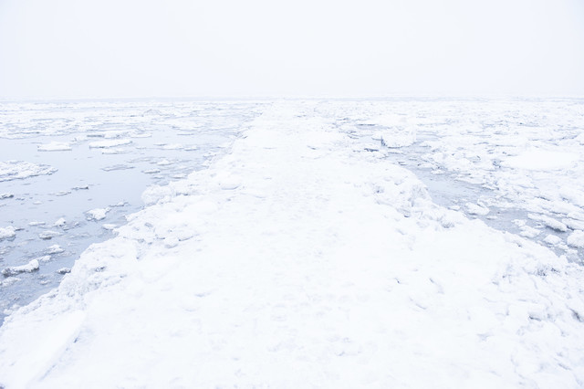 iced road to nowhere - Fineart photography by Schoo Flemming