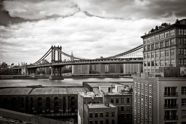 Manhattan Bridge - Fineart photography by Tim Bendixen