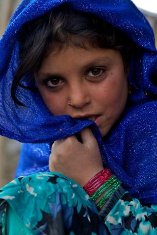 Refugee girl, Kabul - Fineart photography by Christina Feldt