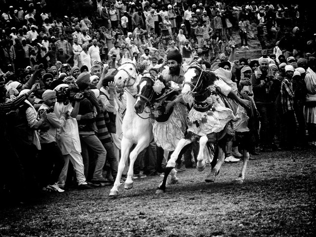 the final race - Fineart photography by Jagdev Singh