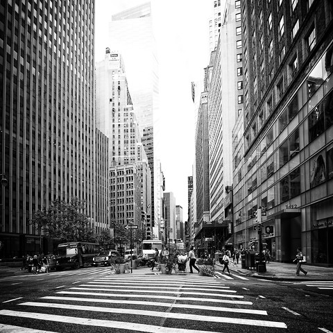 New York, again? #3 - Fineart photography by Norbert Gräf
