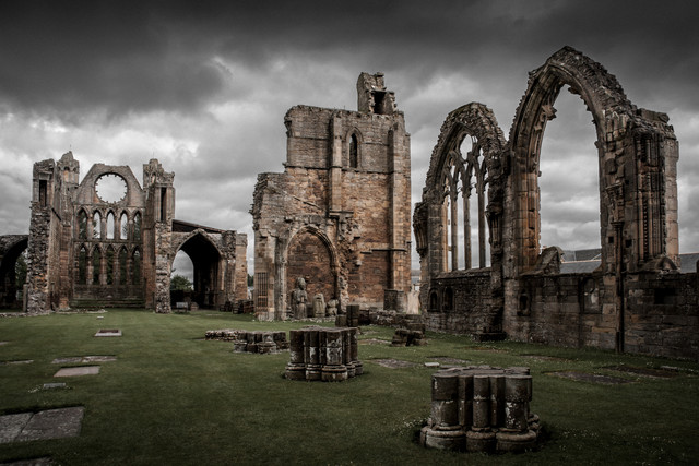 Elgin Cathedral - Fineart photography by Ralf Martini
