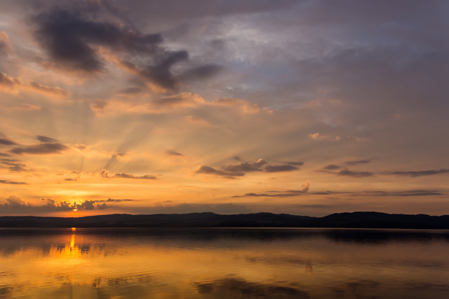 Sunrise over Loch Fyne II - Fineart photography by Stefan Glatzel