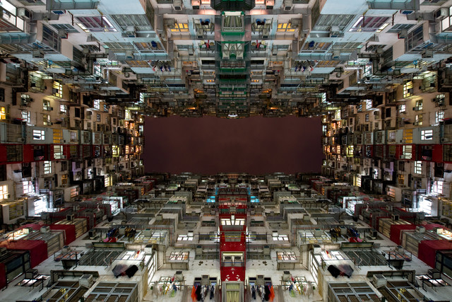 ...mirrored Neighborhood - Fineart photography by Matthias Reichardt