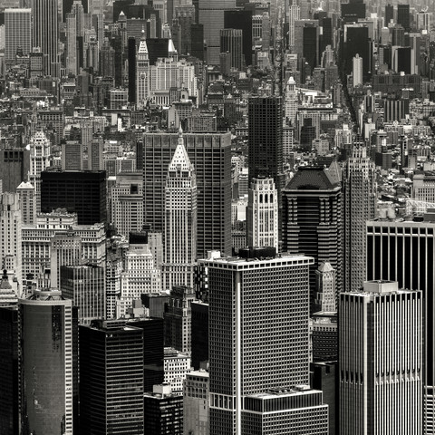 Manhattan 6 miles digest - Fineart photography by Regis Boileau