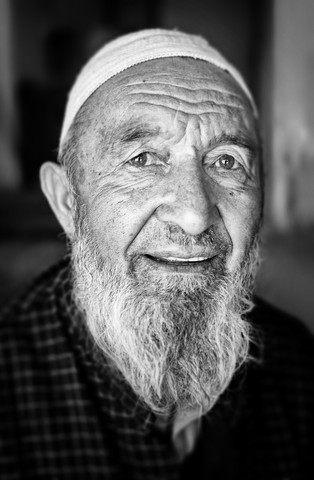 Moslem in Leh - Fineart photography by Victoria Knobloch