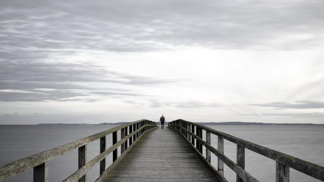 Seebrücke Sassnitz - Fineart photography by Gabi Kuervers