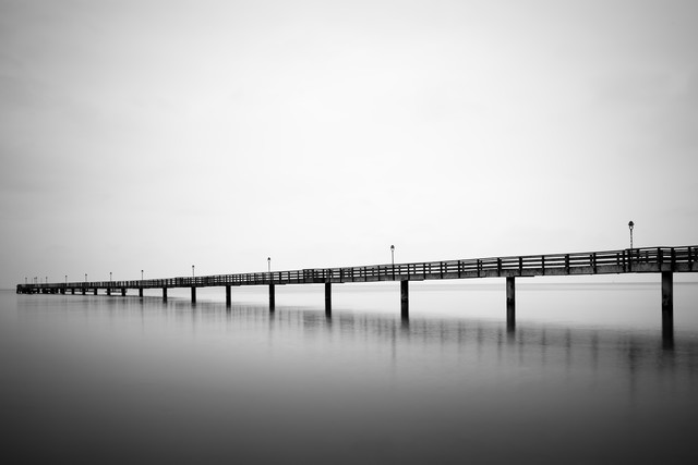 Seebrücke Lubmin - Fineart photography by Oliver Buchmann