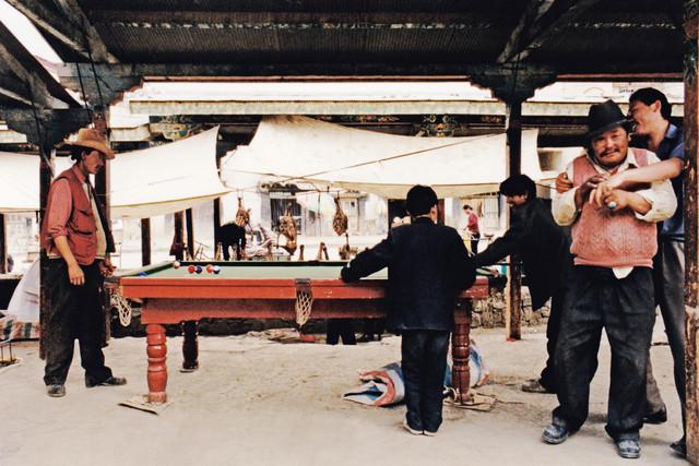 Pool, Tibet, 2002 - Fineart photography by Eva Stadler