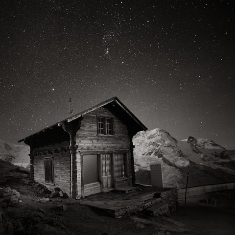 Gornergrat Hut - Fineart photography by Ronny Behnert