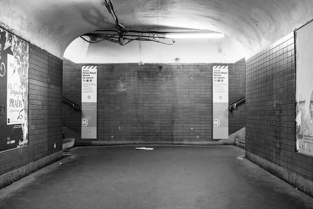 La Métro I - Fineart photography by Sascha Bachmann