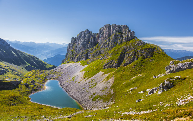 Heart of the Alps - Fineart photography by Torsten Muehlbacher