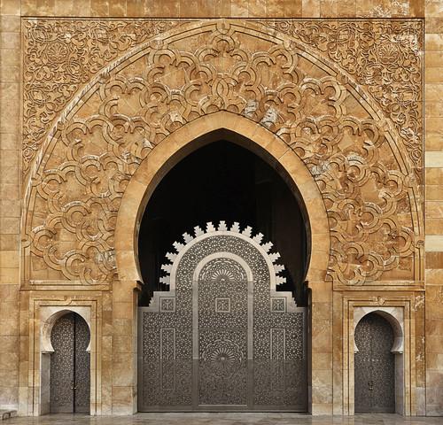Moschee Hassan II - Fineart photography by Renate Reichert
