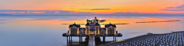 Sellin Pier - Fineart photography by Hans Altenkirch