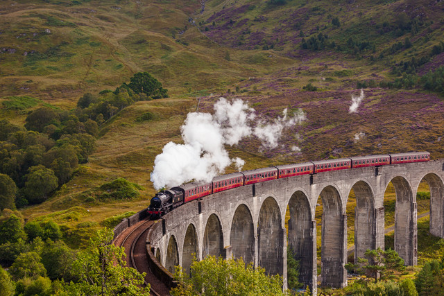 The Jacobite - or the Hogwartsexpress - Fineart photography by Christoph Schoder