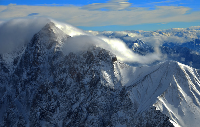 View from Zugspitze - Fineart photography by Michael Brandone