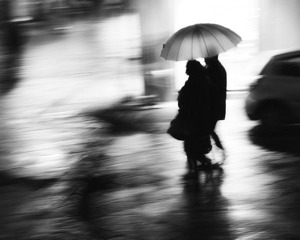 In the rain ... in the night - Fineart photography by Massimiliano Sarno