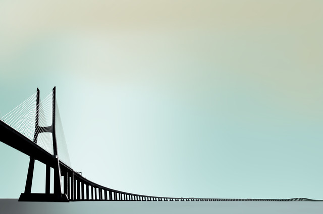 Ponte Vasco da Gama - Fineart photography by Michael Köster