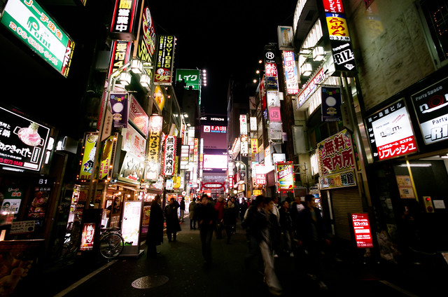 Tokyo Kabukitcho - Fineart photography by Jim Delcid