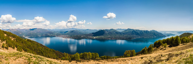 Lago Maggiore Panorama - Fineart photography by Martin Wasilewski