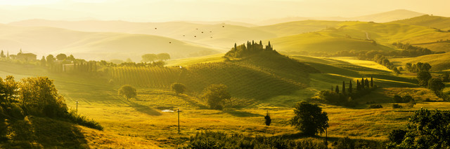 Tuscany - Podere Belvedère II - Fineart photography by Jean Claude Castor