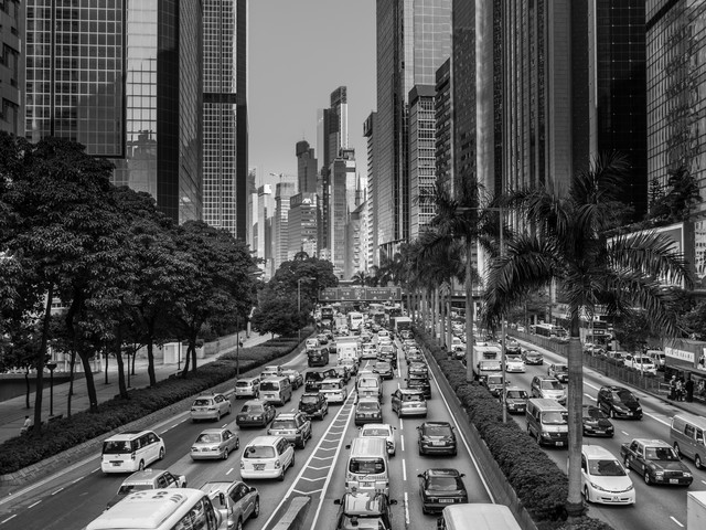 Hongkong Traffic - Fineart photography by Philipp Weindich