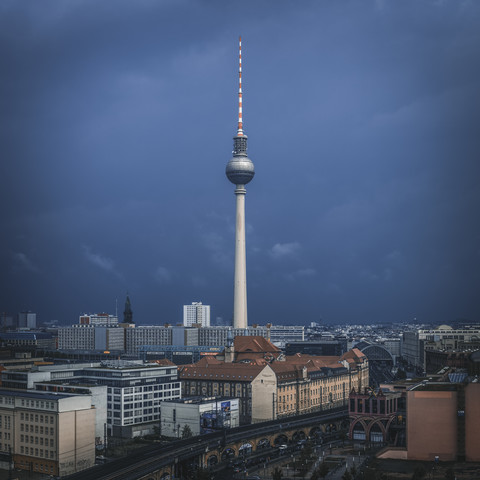 Berlin - TV Tower - Fineart photography by Jean Claude Castor
