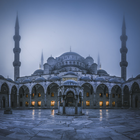 Istanbul - Sultan Ahmed I Mosque - Fineart photography by Jean Claude Castor