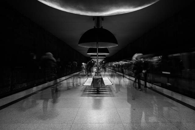 subway - Fineart photography by Michael Schaidler