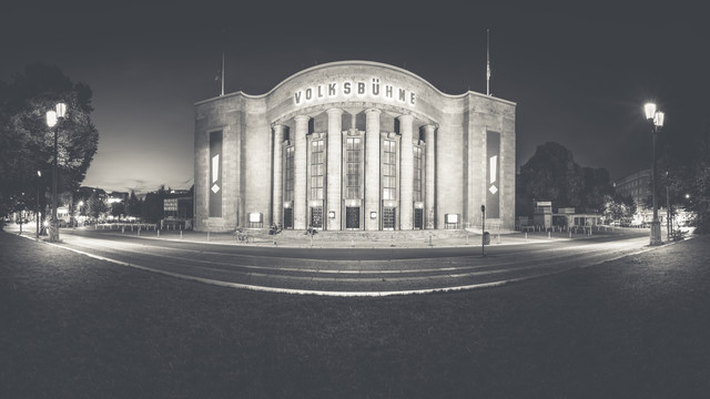 Volksbühne - Fineart photography by Ronny Behnert