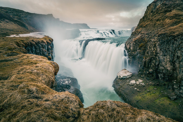 [:] Gullfoss [:] - Fineart photography by Franz Sussbauer