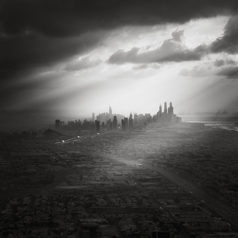Dubai Marina Skyline - Fineart photography by Ronny Behnert